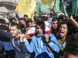 gazastreifen: diplomatie statt raketen