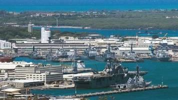 Mehrere Verletzte durch Schüsse auf Marinestützpunkt Pearl Harbor in Hawaii