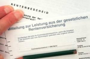 Verbotene Doppelbesteuerung?: Bayern fordert vom Bund Überprüfung der Rentenbesteuerung