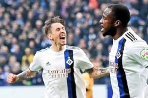 Volksparkstadion: Kein Witz! HSV jagt gegen Heidenheim Rekord von Ernst Happel