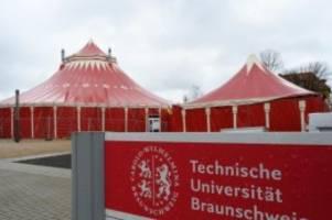 Hochschulen: Heizungsschaden: Vorlesungen im Zirkuszelt ausgefallen