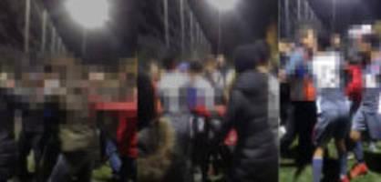 innerschweiz: anzeige und sperren nach tumulten an juniorenspiel