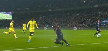 Hacke! Kylian Mbappe mit Traumtor, Neymar vom Punkt