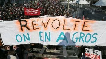 Generalstreik in Frankreich: eine Million gegen Macron