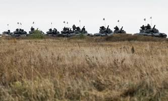 ukraine droht pro-russischen separatisten mit mauerbau