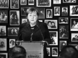 Angela Merkel in Auschwitz: Zur rechten Zeit