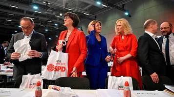 SPD-Parteitag: Malu Dreyer beginnt Parteitag mit Loblied auf Olaf Scholz und SPD