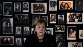 Holocaust-Gedenken: Merkels bewegte Rede: Ich empfinde tiefe Scham