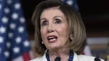 Ukraine-Affäre: Pelosi verteidigt angestrebtes Impeachment gegen Trump
