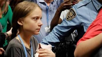 Greta Thunberg: Ankunft in Madrid unter Polizeischutz