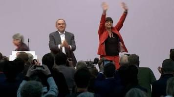 Video: SPD-Parteitag bestätigt Esken und Walter-Borjans als neues Spitzenduo