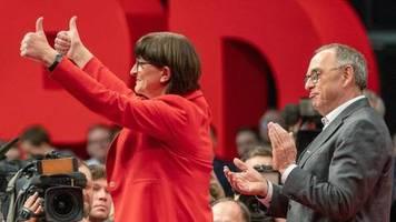 Zitate: Die neue SPD-Spitze in den vergangenen Wochen zur GroKo