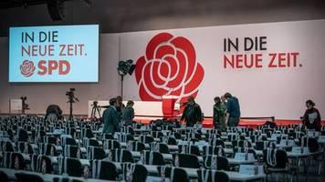 die morgenlage: spd-parteitag in berlin: neue führung und entscheidung über die groko