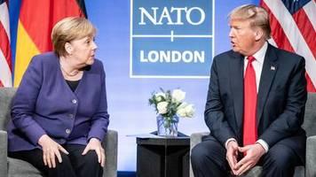 Unerwartetes Lob: Wirklich eine fantastische Frau: Trump setzt zur Charme-Attacke auf Angela Merkel an