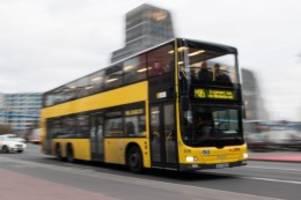 Verkehr: BVG-Busse sind unpünktlichstes öffentliches Verkehrsmittel