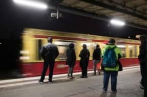 Verkehr: Gewerkschaften und Verbände warnen vor Aufteilung der S-Bahn