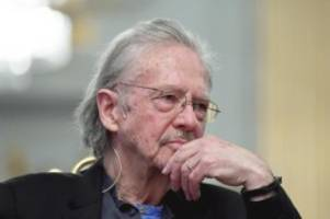 Literaturnobelpreis: Peter Handke in Rage in Stockholm
