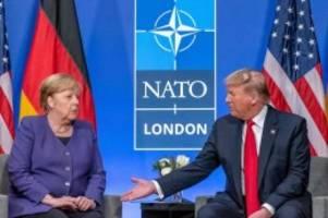 Nach Nato-Treffen: Trump: Merkel ist wirklich eine fantastische Frau