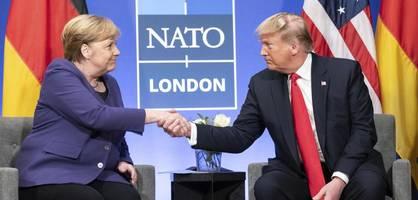 "Donald Trump nennt Angela Merkel ""fantastische Frau"""