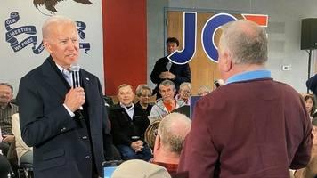 """US-Wahlkampf: """"Verdammter Lügner"""" – Joe Biden reagiert ungehalten auf kritischen Wähler"""