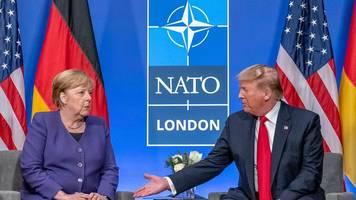 Nach Nato-Treffen - Trump: Merkel ist wirklich eine fantastische Frau