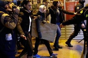 Greta Thunberg zu Klimademonstration in Madrid eingetroffen
