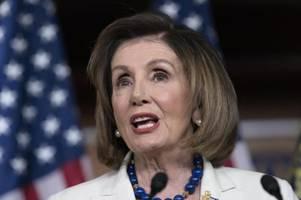 Pelosi verteidigt angestrebtes Impeachment gegen Trump