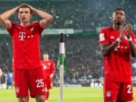 FC Bayern in Gladbach: Der Frust sitzt tief