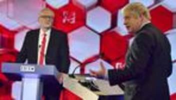 Großbritannien: Boris Johnson überzeugt bei letztem TV-Duell vor der Wahl