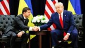 Ukraine-Affäre: Selenskyj ist feindlich gegenüber Medien eingestellt, so wie Trump