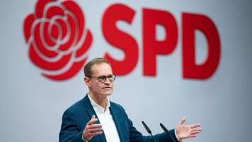 SPD-Parteitag: Michael Müller wirbt für mehr Risiko