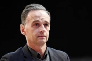 Vorstands-Wahl: SPD-Parteitag: Schlappe für Außenminister Heiko Maas