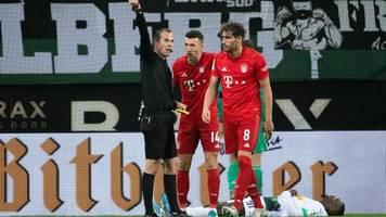 Fußball-Bundesliga: 1:2 verloren: Die Bayern schlittern gegen die Gladbach in die Krise, BVB im Torrausch