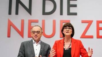 Umfrage «Trendbarometer»: SPD rutscht nach Entscheidung für neue Parteispitze ab