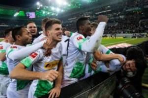 14. Spieltag: Gladbach besiegt die Bayern - auch Leipzig und BVB gewinnen