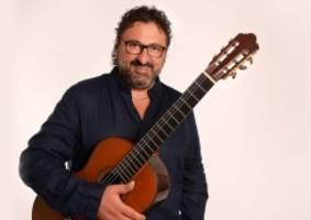 Konzert-Tipp: Aniello Desiderio: Meistergitarrist in der Laeiszhalle