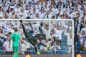 Primera División: Real Madrid übernimmt nach Heimsieg Tabellenführung