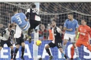 Serie A: Erste Saisonniederlage für Juventus Turin