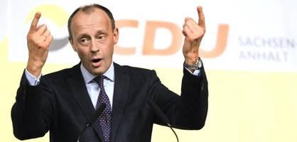"""Merz warnt SPD davor, zur """"Selbsthilfegruppe Kevin Kühnert"""" zu werden"""
