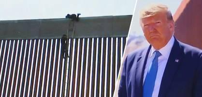 So unüberwindbar ist der Grenzzaun von Donald Trump wirklich