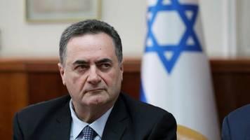 wegen atomwaffen: israel sieht bombardierung des irans als option
