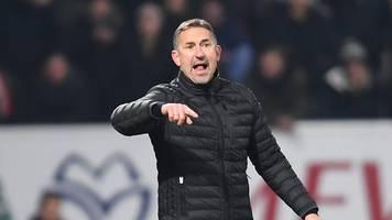 Kritik am Schiedsrichter: Beierlorzer ärgert sich über Elfmeterpfiff