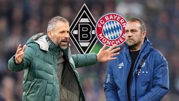 FC Bayern im Duell mit Tabellenführer Gladbach: Alles,  was Sie wissen müssen