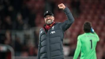 Premier League: Liverpool festigt Tabellenführung – Manchester City patzt