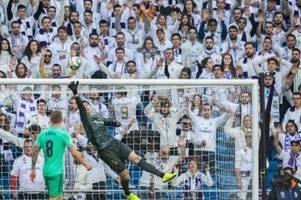 Real Madrid übernimmt nach Heimsieg Tabellenführung
