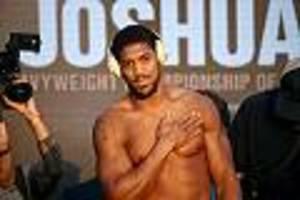 +++ Boxkampf des Jahres +++ - Live-Ticker: Anthony Joshua will seinen Gürtel gegen Andy Ruiz Jr. zurück