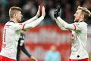 Bundesliga, 14. Spieltag - Leipzig hält Anschluss an die Tabellenspitze  - Freiburg siegt gegen Wolfsburg