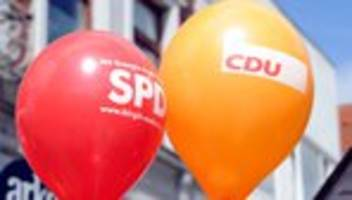 Große Koalition: Unionsspitze plant baldiges Treffen mit neuer SPD-Führung