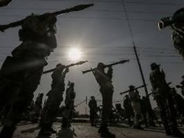 Nach Raketenbeschuss: Israel fliegt Luftangriffe im Gazastreifen