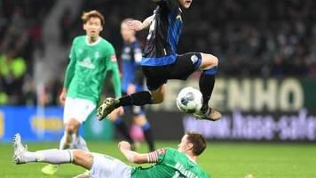 14. Spieltag: Spätes 0:1 gegen den SC Paderborn - Bremer Krise hält an